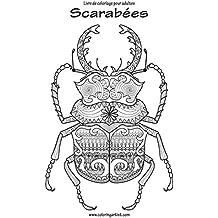 Livre de coloriage pour adultes Scarabées 1