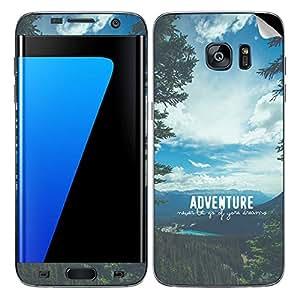 Theskinmantra Adventure SKIN/STICKER/DECAL for Samsung Galaxy S7 Edge