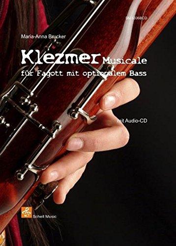 Klezmer Musicale für Fagott mit opt. Bass (+CD) (Klezmer Noten)