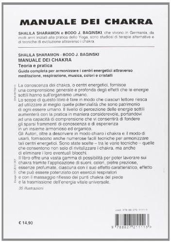 Zoom IMG-1 manuale dei chakra teoria e