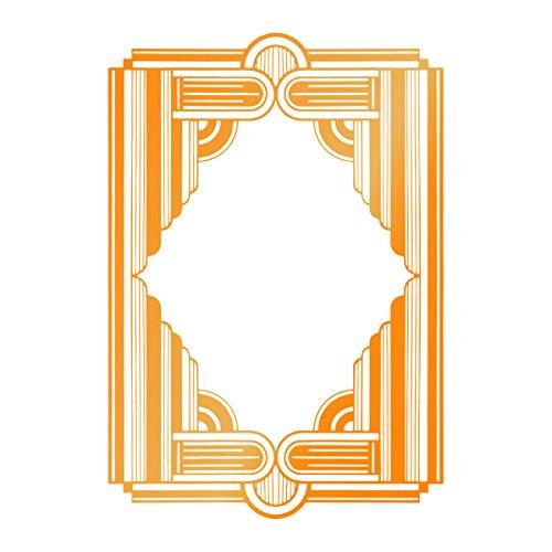 Ultimate Crafts gerahmt Spalten Hotfoil Stempel, grau (Couture Collection Hot)