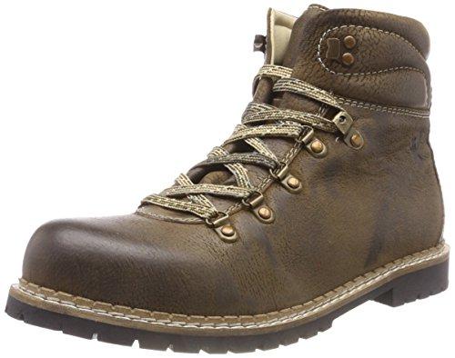 (Spieth & Wensky Herren 550 H Jarrek-Boots Combat, Braun (Rustic 2244), 43 EU)