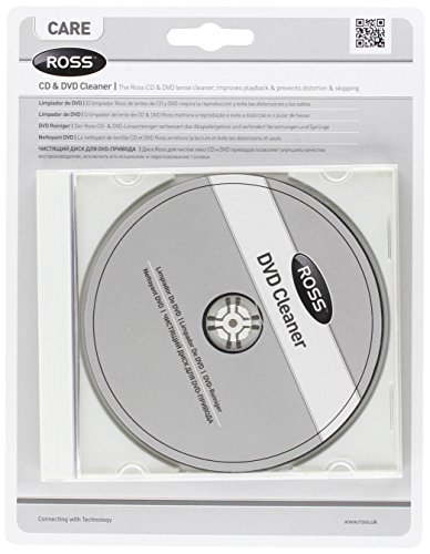 Ross CKDVD-RS DVD/CD Laser Lens Cleaner