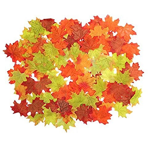 Artificial Loose Autumn / Fall Leaves x100