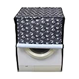 Stylista Washing Machine Cover for LG 8 kg FH4G6TDNL42 Fully-Automatic Front Load Floral Printed Pattern