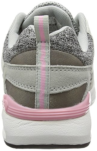 British Knights Damen Demon Sneakers Grau (lt grey/grey/soft pink 06)