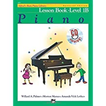 Alfred's Basic Piano Library Lesson Book, Bk 1B (Book & CD) by Willard A. Palmer (1993-03-01)