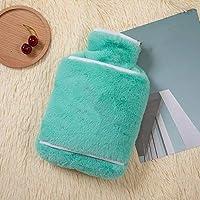 Myzixuan Wassereinspritzung Flanell heißen Wasserbeutel Warmwasser Tasche Winter Geschenke für Männer und Frauen preisvergleich bei billige-tabletten.eu