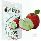 3 Packungen Crispy Crisps Fruchtsnack Apfel a 18 g gefriergetrockneter Snack