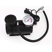 Radhey Preet™ 12V Electric Air Pump Compressor for Car and Bike (Black)