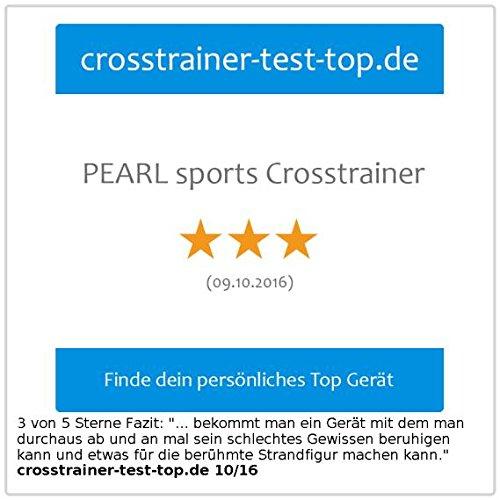 PEARL sports Crosstrainer mit Pulsmesser & Magnetbremse - 6
