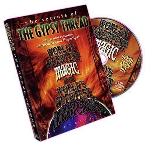 SOLOMAGIA The Gypsy Thread (World's Greatest Magic) - DVD - Anweisungsbuch und DVD - Zaubertricks und Props Gypsy Thread