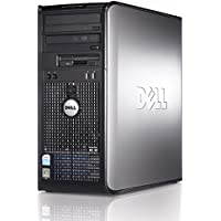 Windows 7 - Dell OptiPlex 745 Powerful Mini-Tower Computer - Intel Core 2 Duo Processor - 500GB Hard Drive - 4GB Memory (RAM) - DVD-RW - WiFi and Bluetooth Enabled - Genuine Windows 7 COA Included