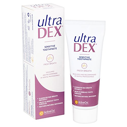 - 51bzQ 2B59CIL - UltraDEX Sensitive Toothpaste (previously called Recalcifying & Whitening Toothpaste)