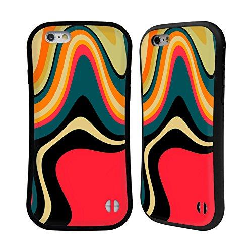 Ufficiale Shelly Bremmer Inclinato Astratto E Vivido Case Ibrida per Apple iPhone 7 / iPhone 8 Risolvere