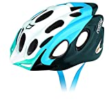 Catlike 0116052 Casco de Bicicleta, Unisex Adulto, Blanco / Azul, S 51-54 cm