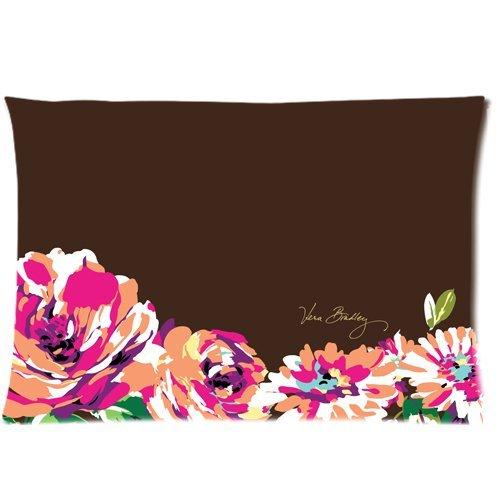 vera-bradley-flower-print-pattern-english-rose-custom-zippered-pillow-case-copricuscini-e-federe-20x