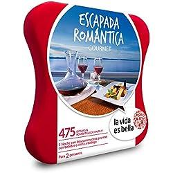 La vida es bella - Caja Regalo - ESCAPADA ROMÁNTICA Gourmet - 475 hoteles románticos de hasta 5*