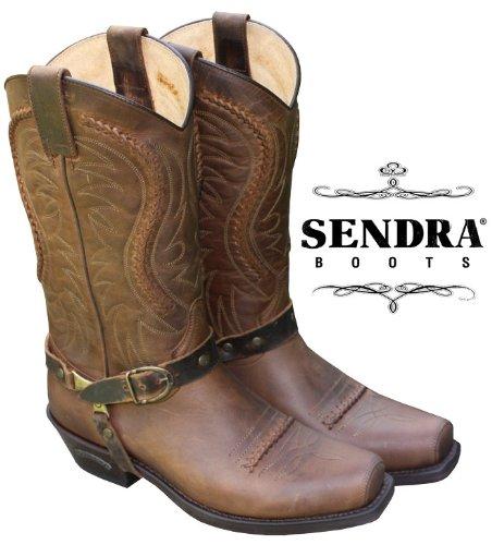 Sendra Boots Sendra Stiefel Mad Dog Tang 58Seta Braun Größe 38 -