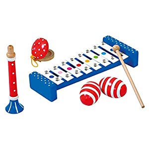 Bino Europe- Juego de Instrumentos Musicales (86587)