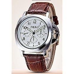 Wasserdichte casual Uhren, Damenuhren , brown