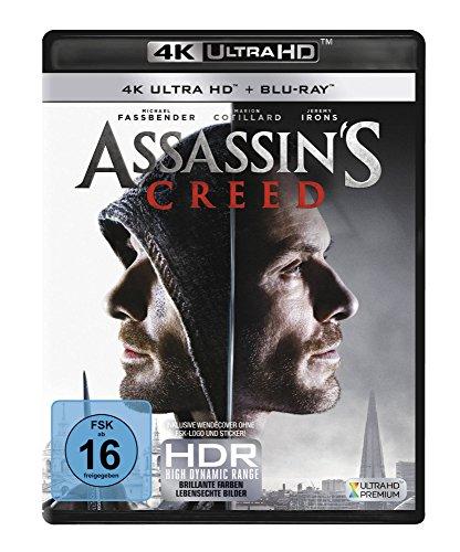 Assassin's Creed - Ultra HD Blu-ray [4k + Blu-ray Disc]
