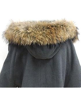Jeracol - Cuello de pelaje para abrigo/capucha