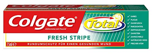 Colgate Total Fresh Stripe Zahnpasta, 6er Pack (6 x 75 ml) -