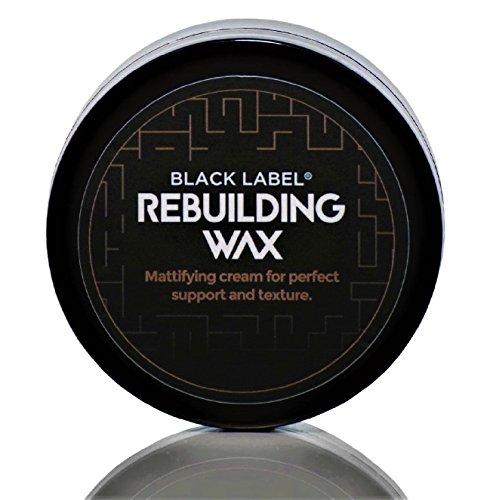 DAS HAARWACHS BlackLabel® Rebuilding Wax 75 ml mit Zedernholz und Lemongras - Hair Wax - Haarwachs