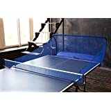 Powerfly Ping Pong Table Tennis Catcher Net - Portable Ball Catch Netting - Serve And One Player Training Practice Set - Compatible With Robot Trainer Equipment