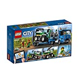 LEGO 60223 City Great Vehicles Harvester Transport with Truck and Trailer, plus Combine Tractor Toy, 2 Minifigures and Scarecrow Figure, Farm Toys for 5+