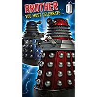"""Doctor Who """"Brother"""" Birthday Card"""