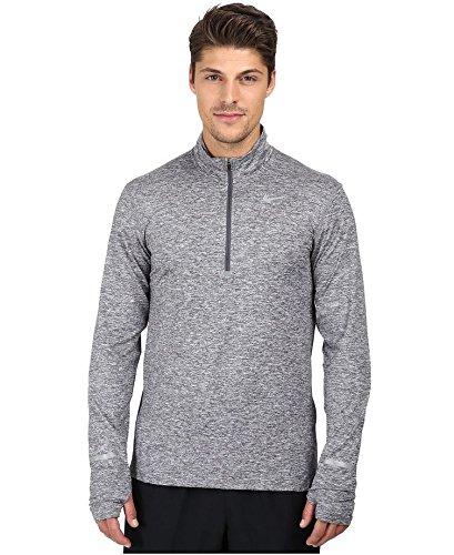 Nike Herren Langarmshirt Dry Element, Dark Grey/Htr/Reflective Silver, XL, 683485-021 (Mädchen Spandex Nike Für)