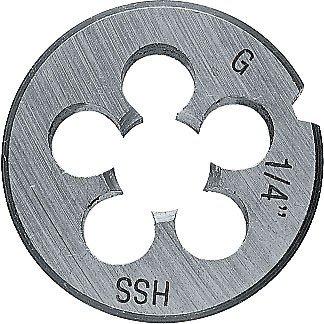 Projahn 98608circulaire Die DIN 223whithworth Tuyau (G) filetage 1/20,3cm HSS-G en acier haute vitesse