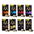 L'OR Espresso Coffee Variety Bundle - Nespresso®* Compatible Aluminium Coffee Capsules - 7 Packs of 10 Capsules (70 Drinks)