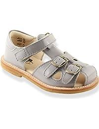 327d8fba894 Leather Sandals with COPPER Buckles - Pat Lavander - Kids Sandals