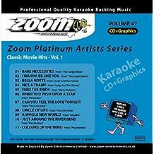 Zoom Karaoke CD+G - Platinum Artists 47: Classic Movie Hits 1