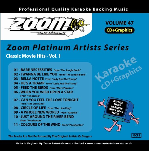 Zoom Karaoke CD+G - Platinum Art...