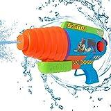 Disney Pistolet À Eau Water Blaster De Toy Story | Mega Fusil Grande Capacité avec Buzz L'eclair | Jeu De Plage, Jardin, Fête, Camping, Ou pour Un Cadeau Anniversaire Enfant Dès 3 Ans
