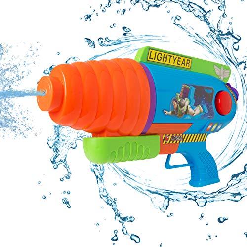 Disney Toy Story Mega Wasserblaster | Wasserpistole mit extra großer Kapazität und Buzz Lightyear | Strand, Garten, Sommerfest Spaß Spielzeug oder Kinder Geburtstagsgeschenk ab 3 Jahren