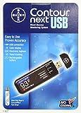 Bayer Contour Next USB Blutzucker Messgerät Komplettes Set + 100 Teststrips