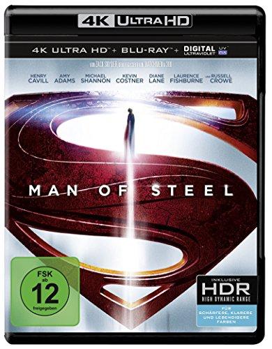 Man of Steel (4K Ultra HD + 2D-Blu-ray) (2-Disc Version)