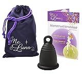 Me Luna Coupe menstruelle Classic, bague, noir, Taille L