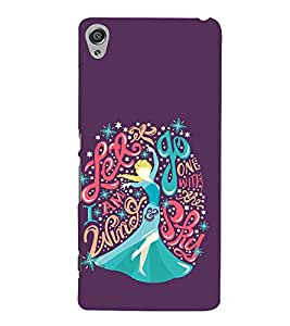 PrintVisa Vector Lady Dance 3D Hard Polycarbonate Designer Back Case Cover for Sony Xperia X :: Sony Xperia X Dual F5122