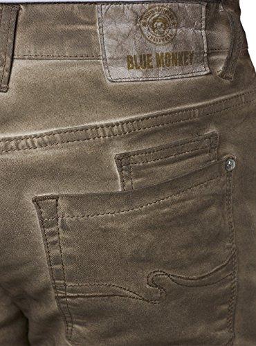 BLUE MONKEY Alex Jeans Braun