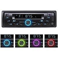 Auna MD Autoradio portata Radio (USB, SD connettività, MOSFET Tech & 4x 75W Max Output), colore: nero