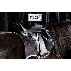 Ledersattel Monosattel 14 15 Zoll Shetty Pony Sattel Leder + 5 Kopfeisen verstellbar Shettysattel Tysons Roségold…