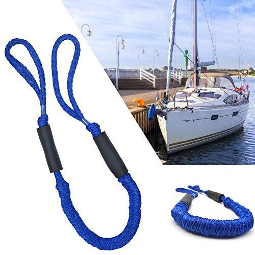 Zay 2 STÜCKE Boot Dock Lines Seil Doppelgeflecht Polyester Multifunktions Schwimmseil für Boot Jet Ski Kajak Ponton PWC Boot Zubehör Anker Festmacher Seil -