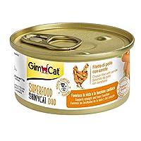 جيمبورن جيم كات طعام رطب للقطط مع الجزر والدجاج ، 70 غم