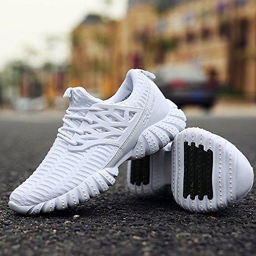 Aleader  Performance, Chaussures de running pour homme Blanc